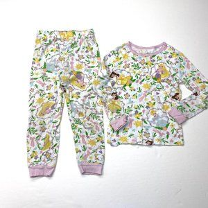 Disney Store Princess Pajamas Set Sz 6 Girls